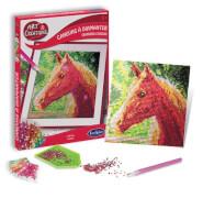 Sentosphere - Strassstein-Bild Pferd