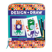 Petitcollage - Design & Draw Activity Kit Monster