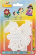 Hama® Bügelperlen Blister 3 Stiftplatten Prinzessin/Blume/Pony