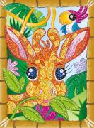Sequin Art Tiere - Giraffe