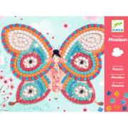 Mosaike: Glitzer Schmetterlinge