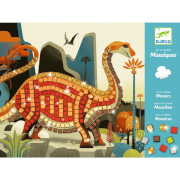 Mosaike: Metallische Dinosaurier