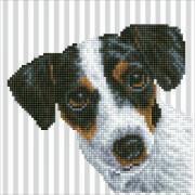 DIAMOND DOTZ Hund 23x23 cm