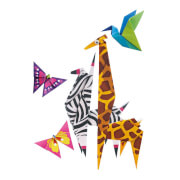 Origami Zoo Tiere - Little Craft Kits