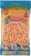 Hama® Beutel mit Perlen Helle Hautfarbe 1000 Stück