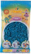 Hama® Beutel mit Perlen Petrol 1000 Stück