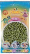 HAMA Beutel mit Perlen Helle Olive 1000 Stück