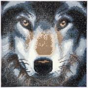 Crystal Art Wolf 30x30 cm