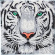 Crystal Art Schneetiger 30x30 cm