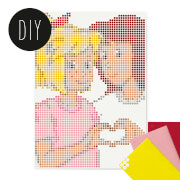 dot on Bibi und Tina XL 50x70 cm