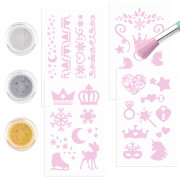 Fantasy Model Glitzer Tattoo Set ICEFRIENDS
