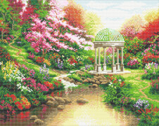 Crystal Art Thomas Kinkade Pools of Serenity 40x50vm