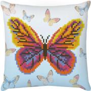 DIAMOND DOTZ Kissen Schmetterling 18x18 cm