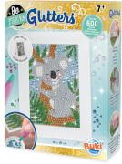 Be Teens Glitters- Koala. Klebetafel mit Strasssteinen
