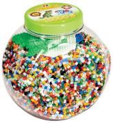 HAMA 2067 Dose Perlen u. Stiftp. Grün 15000 Stück