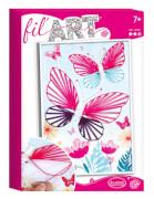 Aladine - Fadenbild Schmetterling