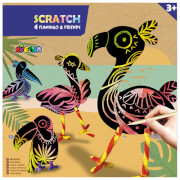 Avenir - Scratch Flamingo & Friends