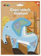 Avenir - Cross Stitch Elephant