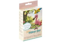 Mini-Häkelset Flamingo