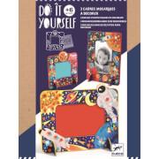 Do it yourself: Mosaik-Bilderrahmen Im Weltraum