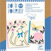 Do it yourself: Notizbücher zum Dekorieren Poetic garden