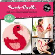 Mein Punch-Needle Starter-Set  Flamingo 100% selbst gemacht