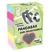 Sooo Cute Baumel-Bande Häkelset Pandabär
