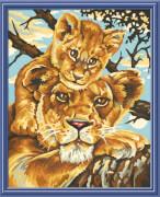 Simba Schipper Malen nach Zahlen - Löwenmutter