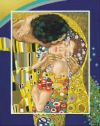 Simba Schipper Malen nach Zahlen - Der Kuss