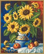 Schipper Malen nach Zahlen - Stillleben mit Sonnenblume
