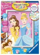 Ravensburger 286546 Malen nach Zahlen: Disney Princess Belle & Cinderella