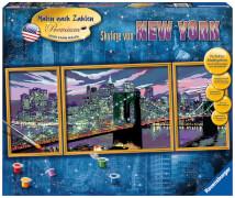 Ravensburger 28951 Malen nach Zahlen - Skyline von New York