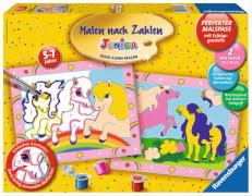 Ravensburger 277230  Malen nach Zahlen - Süße Ponys