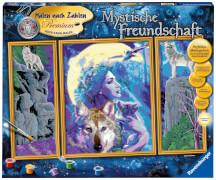 Ravensburger 28960 Malen nach Zahlen - Mystische Freundschaft