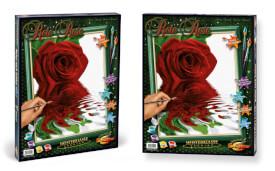 Simba Schipper Malen nach Zahlen - Rote Rose