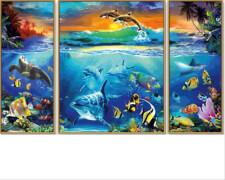 Simba Schipper Malen nach Zahlen - Am Korallenriff (Triptychon)