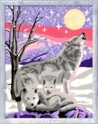 Ravensburger 281909  Malen nach Zahlen - Wolfsfamilie