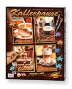 Simba Schipper Malen nach Zahlen - Kaffeepause (Quattro) á 18 x 24 cm