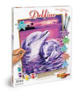 Schipper Malen nach Zahlen - Delfine