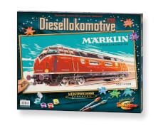 Malen nach Zahlen - Märklin Diesellokomotive 3021 V20