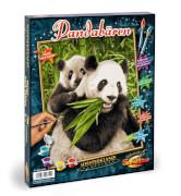 Simba Schipper Malen nach Zahlen - Pandabären 24 x 30 cm