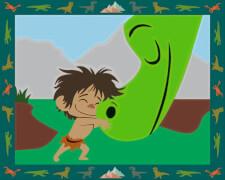 Ravensburger 277667  Malen nach Zahlen - The Good Dinosaur