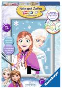 Ravensburger 28027 Malen nach Zahlen Disney Frozen - Die Eiskönigin