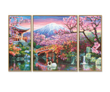 Schipper Malen nach Zahlen - Kirschblüte in Japan Triptychon