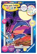 Ravensburger 27845 Malen nach Zahlen: Delfine