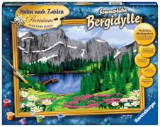 Ravensburger 28898 Malen nach Zahlen: Sommerliche Bergidylle