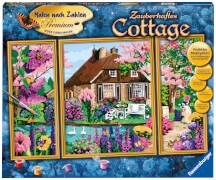 Ravensburger 28982 Malen nach Zahlen: Zauberhaftes Cottage