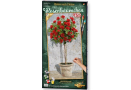 Schipper Malen nach Zahlen - Rosenbäumchen Rot