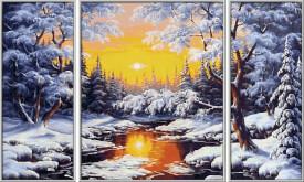 Schipper Malen nach Zahlen Schipper  - Ein Wintertraum