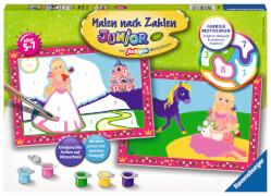 Ravensburger 27778 Malen nach Zahlen Junior Kleine Prinzessin